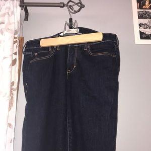 Abercrombie skinny jeans!